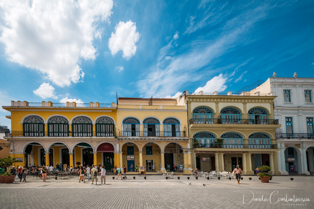 Architecturally significant buildings in Plaza Vieja Old Havana
