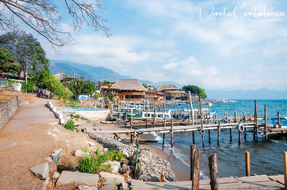 Panajacel Docks on the shore of Lake Atitlan