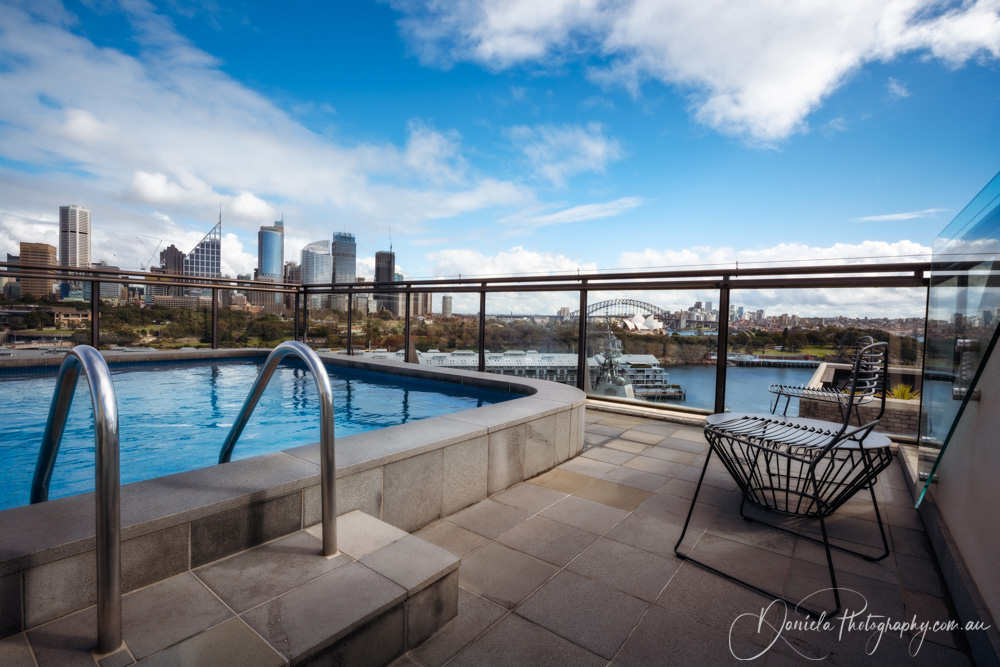 Rooftop Pool with Sydney City Views