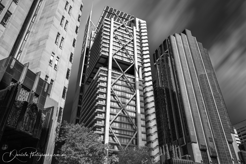 Australia -Different architectural styles of modern Sydney Towers