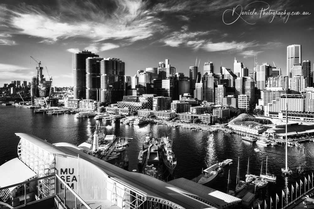 Australia -View of Sydney City from Darling Harbour